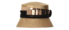 Luxury hats designed by William Chambers Millinery