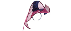 Luxury hats designed by Judy Bentinck