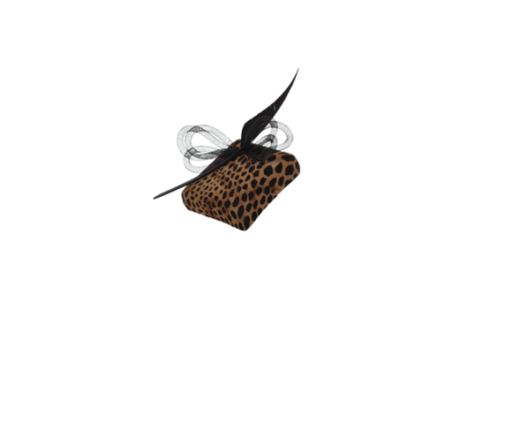 mark-t-burke-leopard-print-square-pill-box-with-crin-bow-and-feather