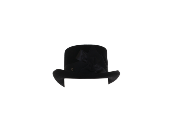 fabienne-delvigne-black-felt-hat-with-ribbon