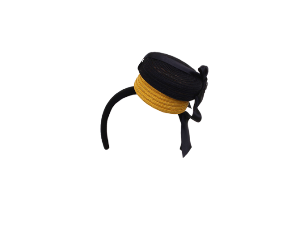 marie-mercie-head-band-with-miniature-black-and-yellow-hat-box
