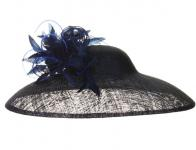 Jane Taylor Millinery - Lotus Navy
