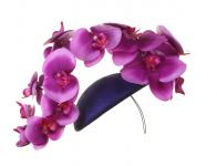 Philip Treacy London - Orchid Beret