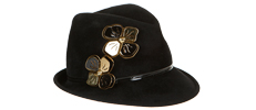 Luxury hats designed by Misa Harada